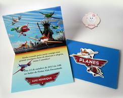Convite Avi�es Disney ( Planes)