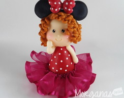 Menina Minnie vermelha 3