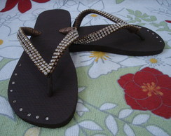 Chinelo Lindo strass