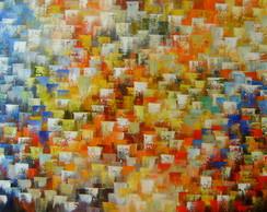 Abstrato Multicores 70x130 Cod 656
