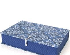 Caixa Organizadora Bandana - Azul
