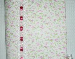 Capa Agenda / Caderno Flores Rosa