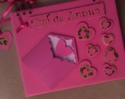 Caderno de Mensagens cora��ezinhos