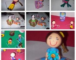Bonecas Em Biscuit
