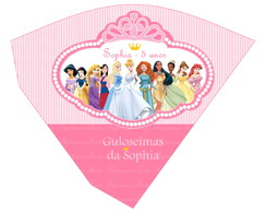 Mini Cone Princesas Disney