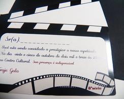 Convite Festa Cinema