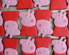Biscoito Decorado - Peppa Pig