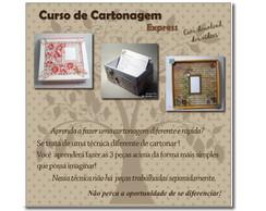 Curso Online - Cartonagem Express