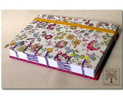 Caderno Floral Pink
