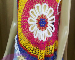 Blusa  Ana Maria Colorful
