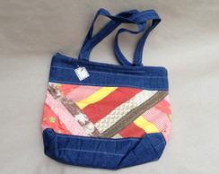 Bolsa Jeans Patch work