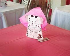 Centro de mesa Vestidinho Ch� de Beb�