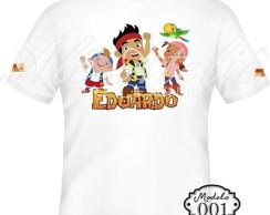 Camiseta Personalizada Jake Piratas