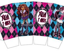 Caixinha Pipoca Monster High;