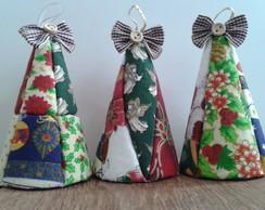 Mini Cones de Natal