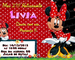 Convite Minnie - 4