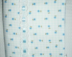 Capa Agenda / Caderno Flores Blue
