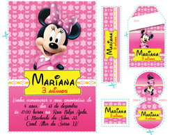 Kit Minnie Rosa Pink - mn02