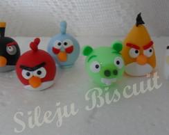 Aplique dos Angry Birds