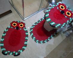Jogo de banheiro - Coruja Bnh 080