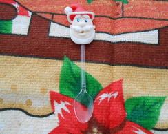 Mini colher Papai Noel