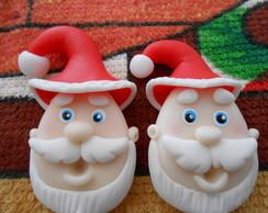 Apliques Papai Noel.