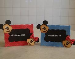 Porta Retrato Minie e Mickey de EVA