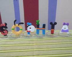 Topo letras Turma do Mickey