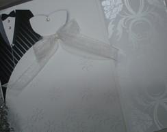 Convite_Style Smoking e Vestido de Noiva
