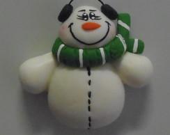 �m� De Geladeira - Boneco de Neve