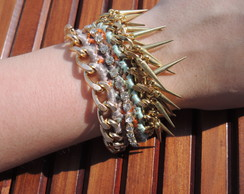 BP131 | Pulseira Friendship n' Spikes
