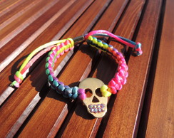 BP164 | Pulseira Colored Skull