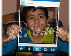 Moldura Instagram ou Facebook - 20x29cm