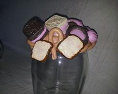 Porta Biscoitos e Chocolates