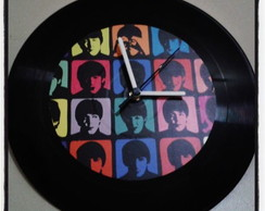 Rel�gio Decorativo De Vinil Let it Be