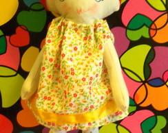 Boneca Vestido Florzinha