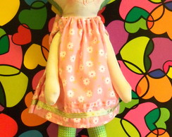 Boneca Vestido Margaridas