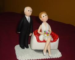 biscuit topo de bolo para bodas