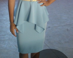 Vestido Alessandra - Tecido Shantum