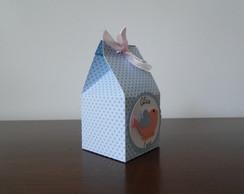 Milk Box passarinhos