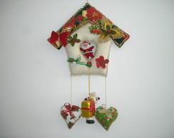 Guirlanda De Natal casinha