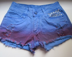 Short Customizado Tie Dye