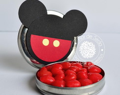 Lembran�a latinha Mickey ou Minnie