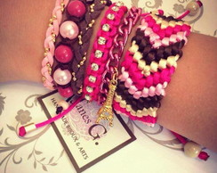 Mix Ethnic Pink Land