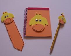 Kit Escolar Girafinha