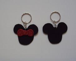 Chaveiro Minie/Mickey
