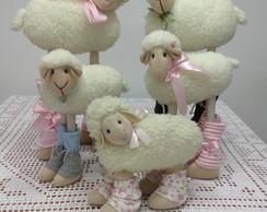 Ovelha em tecido