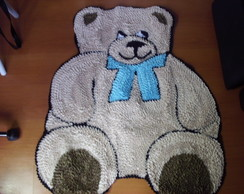 Urso de gravata Azul