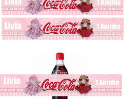 R�tulo para Coca Cola Boneca de Pano