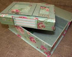 Kit Caixa e Caderno de assinatura